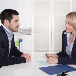 Bewerbungsgespräch oder Vorstellungsgespräch Business