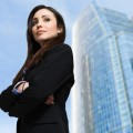 Confident businesswoman portrait