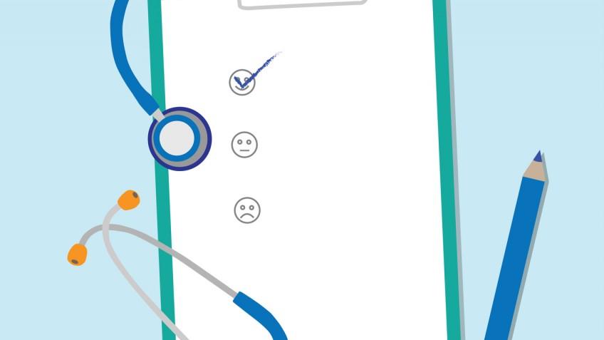 Clipboards vector illustration.