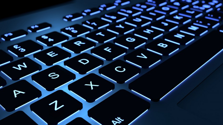 Backlight keyboard