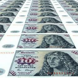 Alte 10 DM Banknoten