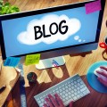 Social Media Connecting Blog Communication Content Concept